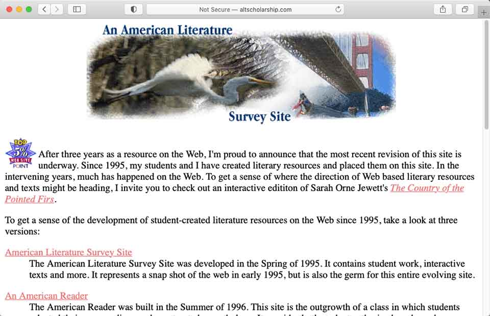 American Literature Survey
