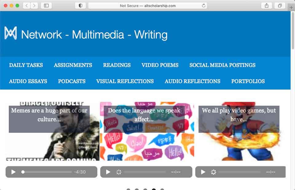 Multimedia Writing
